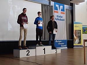 Siegerehrung über die 5 km ( Foto: M. Hadler )